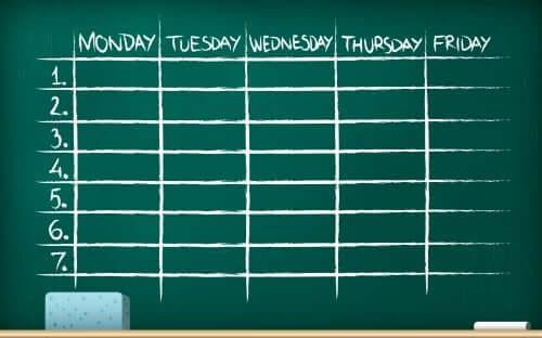 planning pour une organisation efficace des devoirs