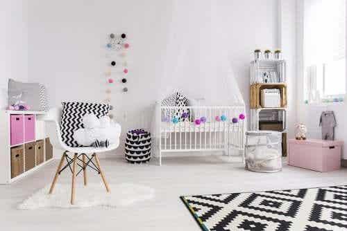 6 types de rangements pour la chambre de bébé