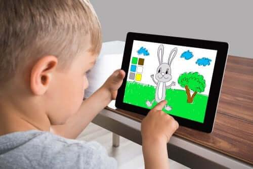 6 applications pour enfants pour peindre et colorier