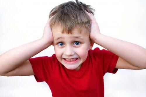 Le stress à l'école chez un enfant