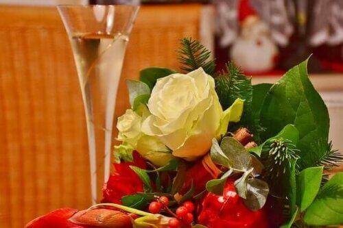 Décoration et apéritif pour fêtes
