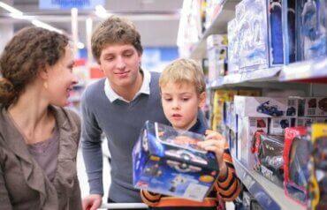 Les clés pour éviter le consumérisme compulsif chez les enfants