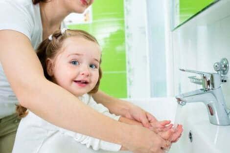L'hygiène des enfants est une bonne habitude à prendre