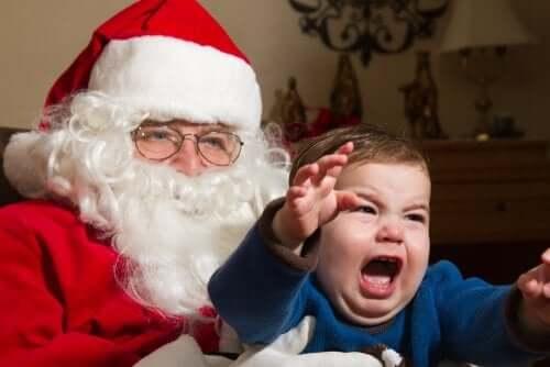 La peur du Père Noël et des Rois Mages