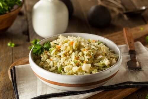 Recette de riz aux épinards