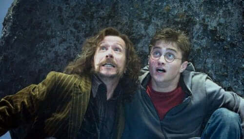 Harry Potter et Sirius Black
