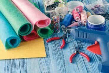 5 travaux manuels en feutre pour les enfants