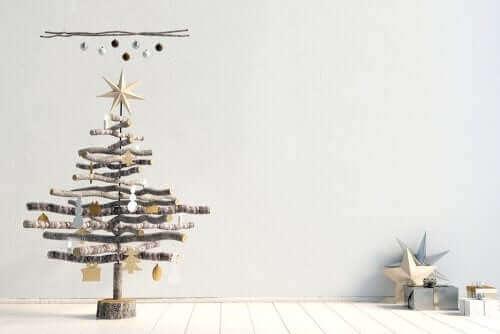 Un arbre de Noël original.