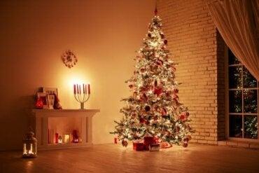 Idées pour décorer le salon à Noël