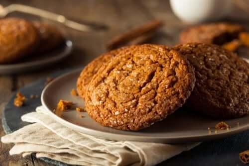 Des biscuits au gingembre.