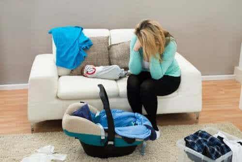 Maternity blues et dépression post-partum