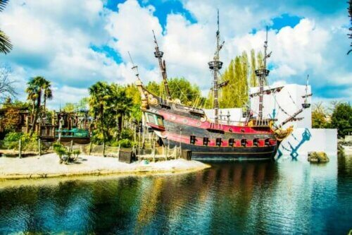Disneyland Paris : le bateau pirate