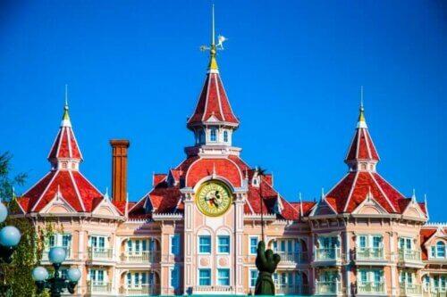 Disneyland Paris : entrée du château