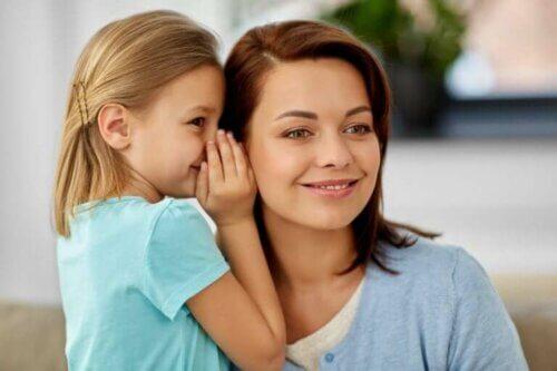 L'importance des réponses aux enfants : secrets mère fille