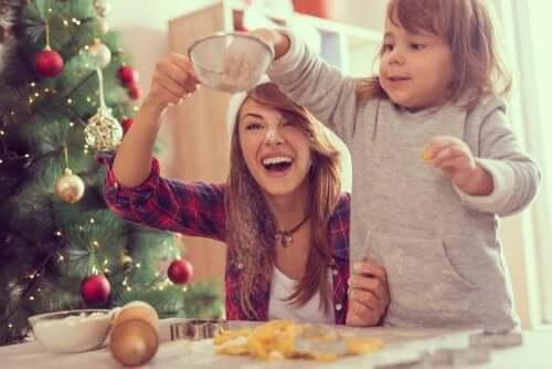 Recettes de Noel cuisine mère et fille