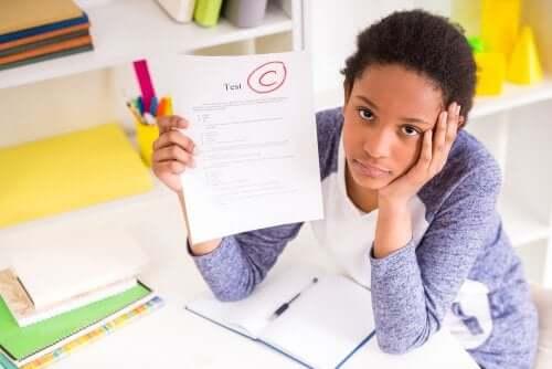 Redoubler une classe : bulletin mauvais