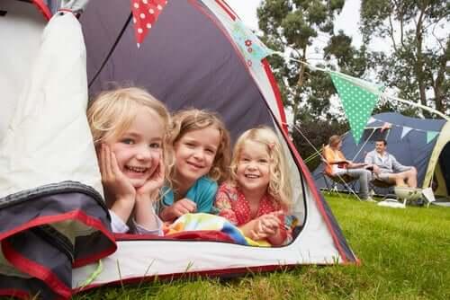 Le camping pour les enfants