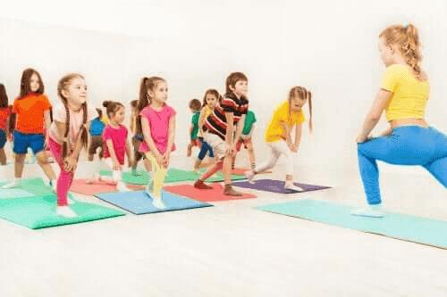 L'aérobic pour enfants: un exercice idéal