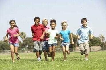 4 jeux récréatifs pour les enfants