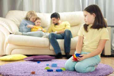 Le cerveau des enfants quand ils sont jaloux