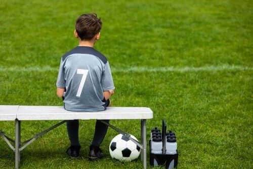 Mon fils n'aime pas le football