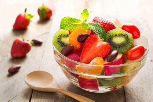 Salade de fruits pour manger en été