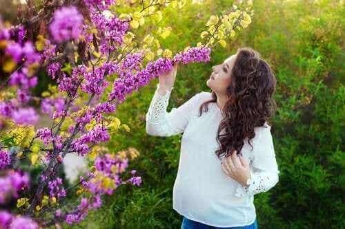 L'augmentation de l'odorat pendant la grossesse
