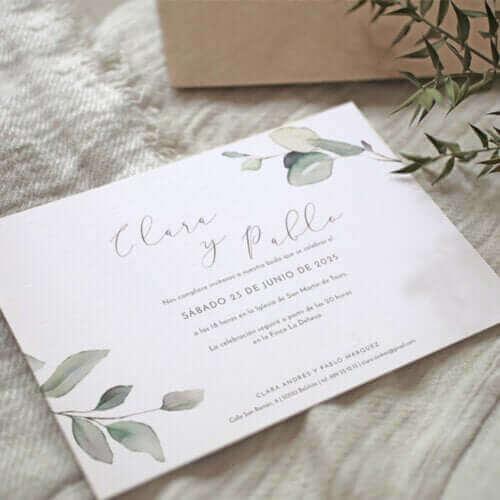 Une invitation de mariage