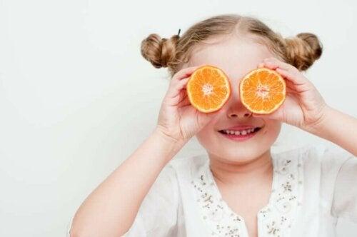 Les nutriments dans l'alimentation infantile