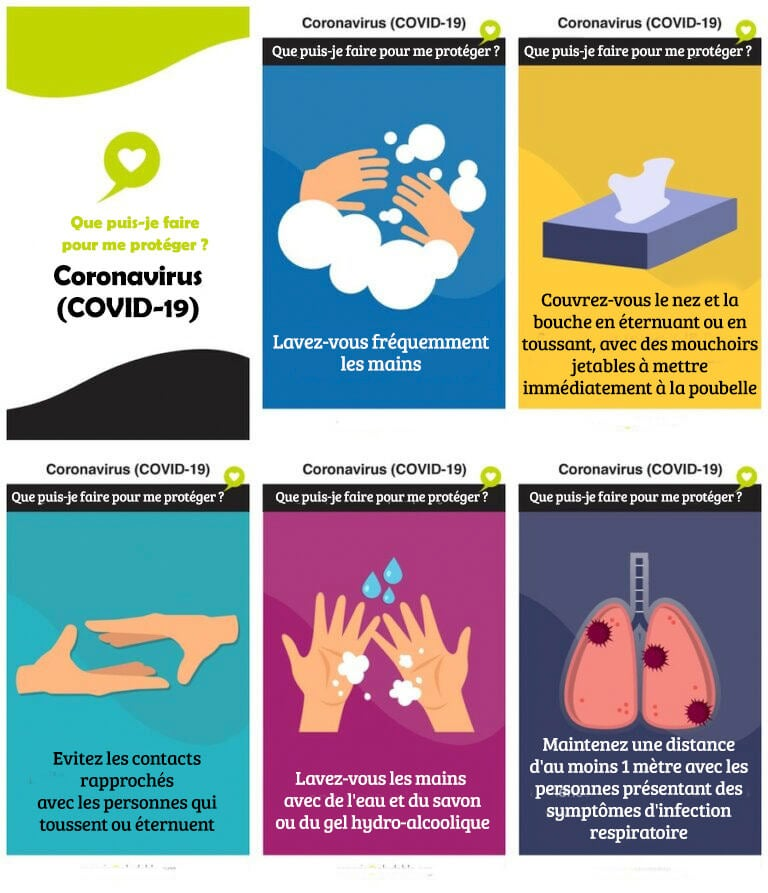 Prévention du coronavirus
