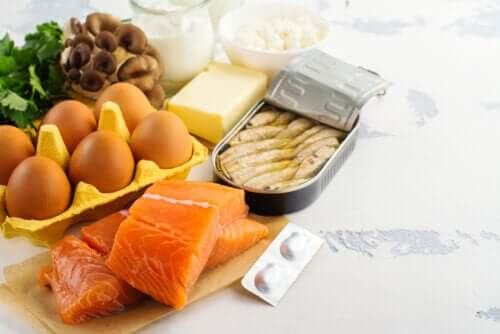 Des aliments qui contiennent de la vitamine D