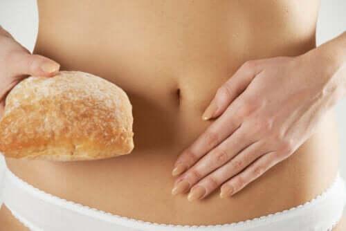 Traitement diététique à la sensibilité au gluten