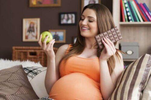 Envie de sucre chez une femme enceinte