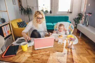 Le défi de concilier télétravail et garde des enfants