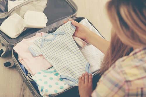 Préparer le trousseau d'un nouveau-né