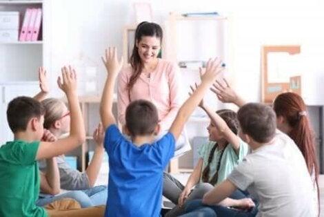 apprentissage des émotions en classe entre élèves et enseignants