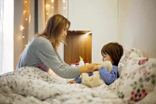 L'usage des suppositoires pour enfants