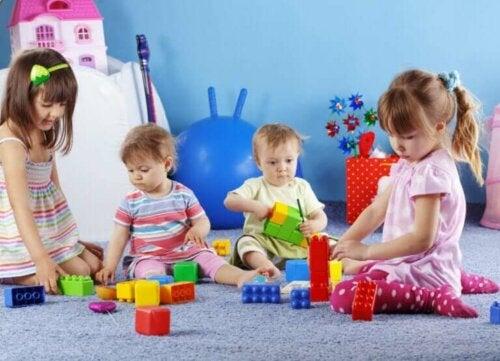 Jeux pour le développement de l'enfant