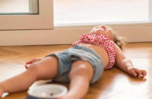 La crise d'adolescence infantile et le chagrin