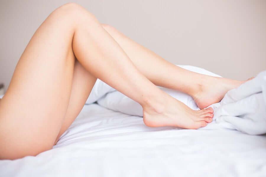 Des jambes épilées