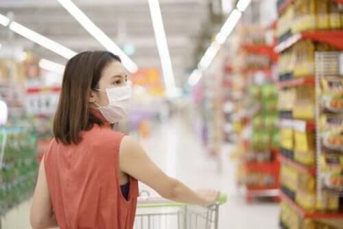Faire ses courses pendant la crise du coronavirus
