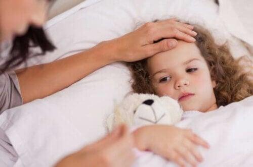 La fièvre chez l'enfant et la déshydratation
