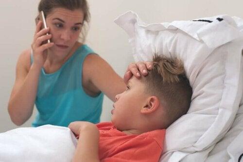 Comment détecter de manière naturelle si mon enfant a de la fièvre?