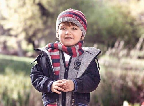 La mode infantile en hiver