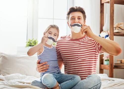 Un père et sa fille.