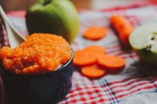 Recette de purée de carotte