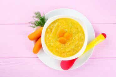 Un régime alimentaire mou pour réduire la diarrhée chez les enfants