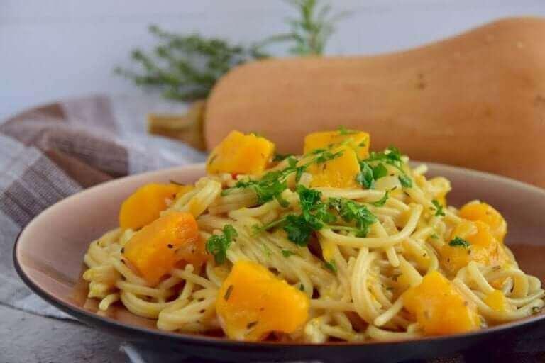 spaghettis à la courge