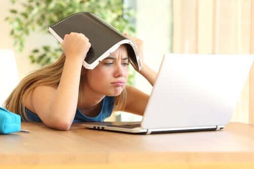 Le stress scolaire.