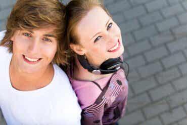 L'amour et l'amitié entre adolescents